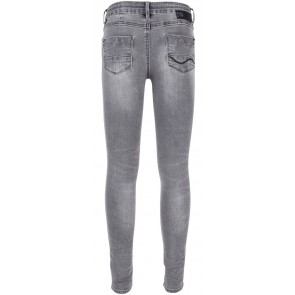 Indian Blue Jeans grey Jazz super skinny fit broek in de kleur denim grijs