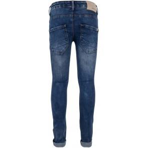 Indian Blue Jeans blue Brad super skinny fit broek in de kleur used dark denim blauw