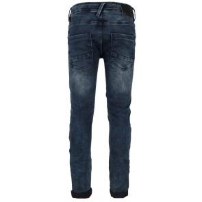 Indian Blue Jeans blue Ryan skinny fit broek in de kleur used dark denim blauw