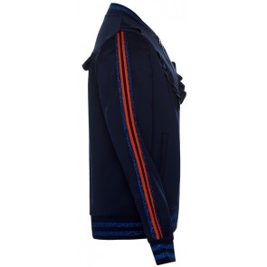 Retour Jeans Sigrid vest met glitter bies in de kleur donkerblauw