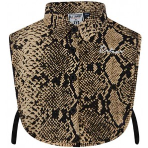 Retour Jeans Esmee blouse kraagje met slangenprint in de kleur bruin