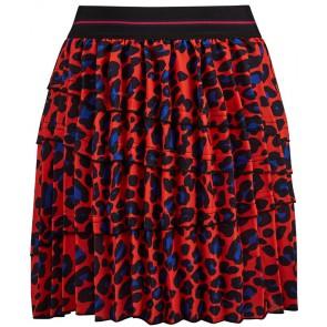 Retour Jeans Rosalie rok met panterprint in de kleur oranje