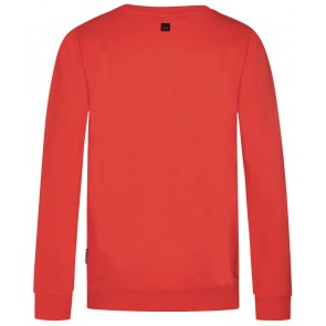 Retour Jeans Carmela sweater trui met print in de kleur oranje