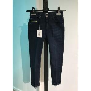 Iceberg kids boys jeans broek in de kleur jeansblauw