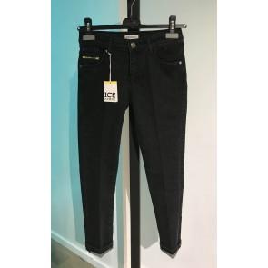 Iceberg kids boys jeans broek in de kleur zwart