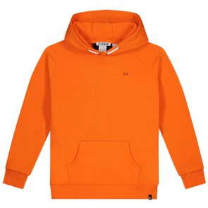 NIK en NIK Percy hoodie trui in de kleur oranje