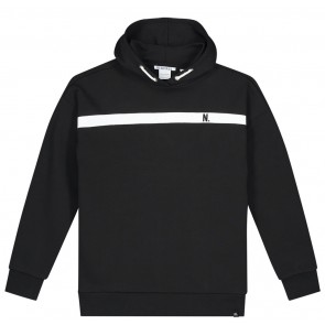NIK en NIK Alain hoodie trui in de kleur zwart