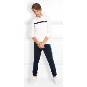 NIK en NIK Alain hoodie trui in de kleur wit