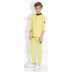 NIK en NIK Abel sweater trui in de kleur dust geel