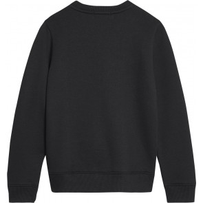 Calvin Klein Jeans sweater trui met logoprint in de kleur zwart