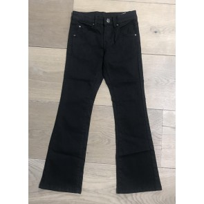 The New denim flared pants in de kleur zwart