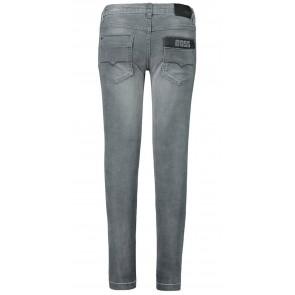 Hugo Boss kids skinny fit denim broek in de kleur grijs
