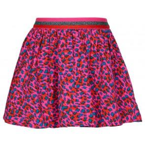 Le Big rok met panterprint in de kleur multicolor