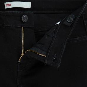 Levi's kids denim broek 710 in de kleur zwart