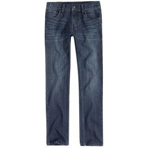 Levi's kids denim broek 510 in de kleur jeansblauw