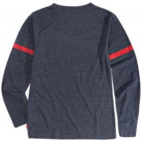 Levi's kids longsleeve t-shirt met logo in de kleur grijs