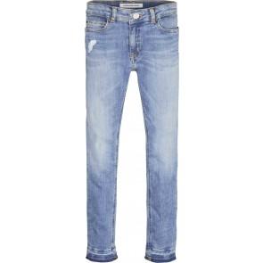Calvin Klein Jeans denim broek in de kleur jeansblauw