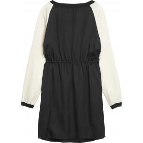 Calvin Klein Jeans jurk met logobies in de kleur zwart