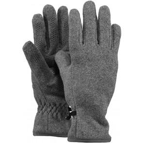 Barts kids fleece handschoenen in de kleur grijs