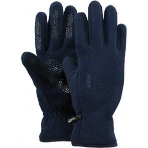 Barts kids fleece handschoenen in de kleur donkerblauw