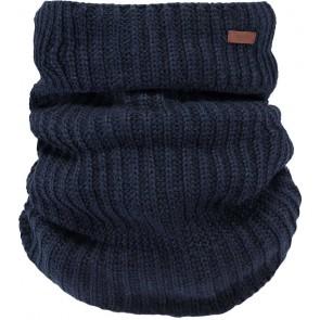 Barts Macky col sjaal in de kleur donkerblauw