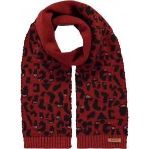 Barts Honey scarf sjaal met panterprint in de kleur bruin