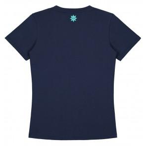 NIK en NIK Boom t-shirt met print in de kleur donkerblauw