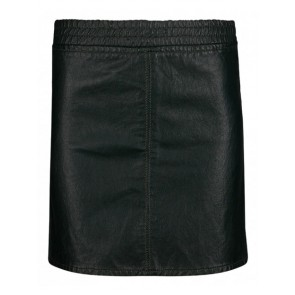 Retour Jeans Robine leatherlook rok in de kleur groen