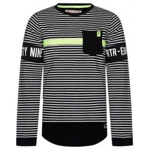 Retour Jeans Alonzo gestreept longsleeve t-shirt in de kleur multicolor