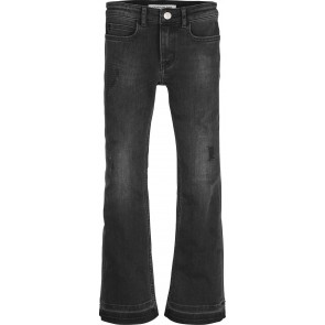 Calvin Klein Jeans denim flared pants in de kleur zwart