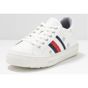Tommy Hilfiger sneakers met studs en logo in de kleur wit