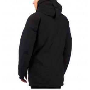 Airforce boys winterjas snow parka technical softshell in de kleur black zwart