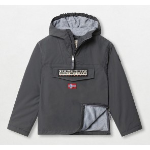 Napapijri kids rainforest anorak winter jacket winterjas in de kleur grijs