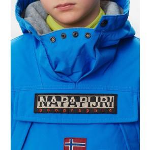 Napapijri kids skidoo anorak winterjas in de kleur blauw