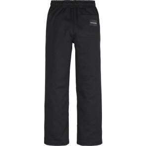 Calvin Klein Jeans wijde sweatpants in de kleur zwart