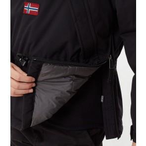 Napapijri kids skidoo anorak winterjas in de kleur zwart