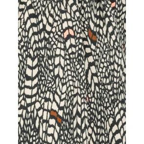 IKKS girls blouse met all-over print in de kleur wit