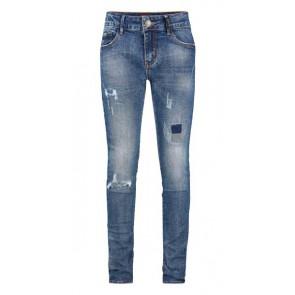Retour Jeans Jacky denim ripped broek in de kleur jeansblauw