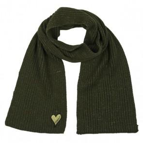 Retour Jeans gebreide sjaal in de kleur groen