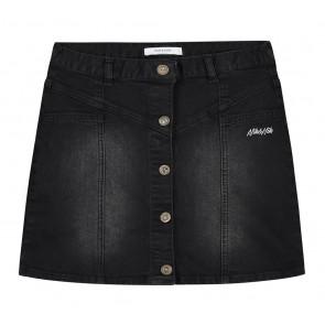 NIK en NIK Carola denim rok in de kleur zwart