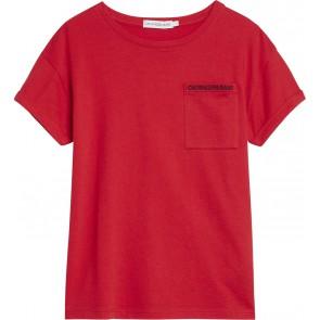 Calvin Klein Jeans t-shirt in de kleur rood