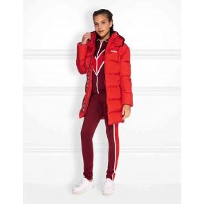 NIK en NIK Emia Puffer winterjas in de kleur rood
