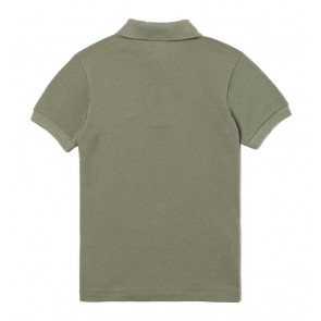 Lacoste polo shirt in de kleur kaki groen
