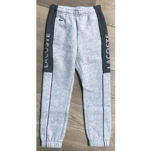 Lacoste sweatpants broek met logo in de kleur grijs