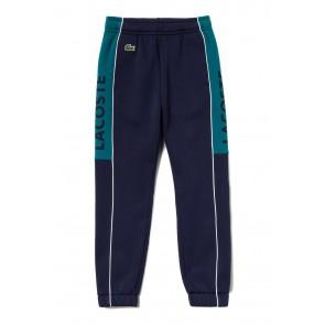 Lacoste sweatpants broek in de kleur donkerblauw/donkergroen