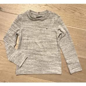 Tommy Hilfiger kids boys fijngebreid longsleeve shirt in de kleur grijs