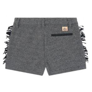 IKKS girls korte broek met franjes in de kleur grijs