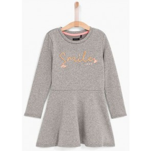 IKKS girls sweatdress jurk in de kleur grijs