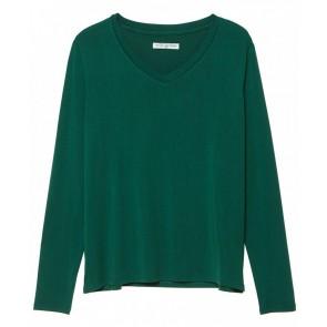 Circle of trust longsleeve shirt in de kleur donkergroen