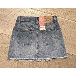 Levi's kids girls high rise skirt rok in de kleur jeansblauw